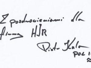 HJR - POZDROWIENIA PIOTR KULAs